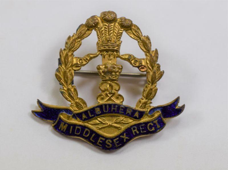 26 Original WW1 WW2 Middlesex Regt Sweetheart Brooch