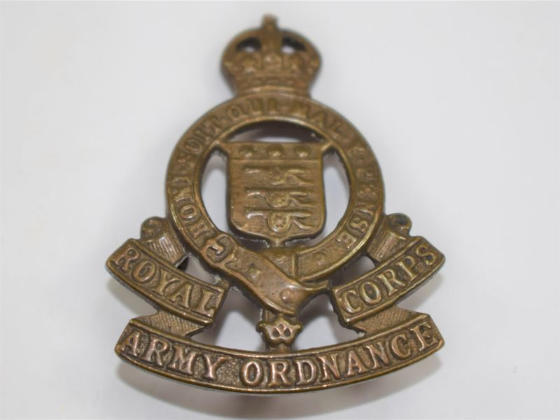 31 WW2 Royal Army Ordnance Corps Cap Badge