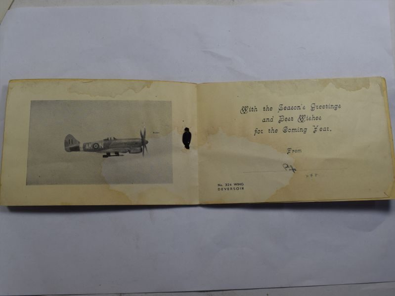 40 WW2 RAF No 213 Squadron Christmas Card