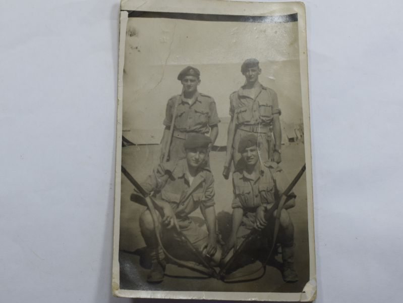 34 Original WW2 Photo British Soldiers El Hamara North Africa