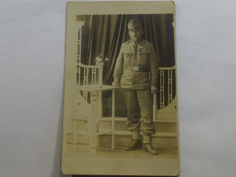 36 Original WW1 Studio Photograph of Austrian Soldier