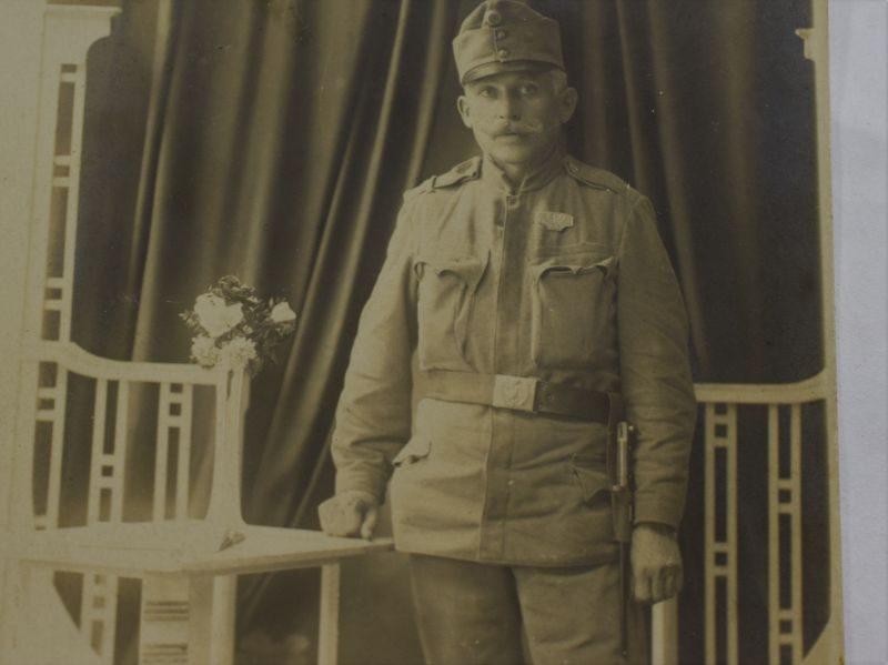 36 Original WW1 Studio Photograph of Austrian Soldier