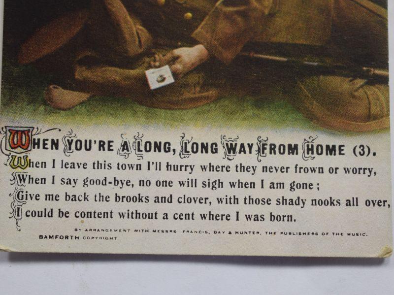 37 Original Blank WW1 British Army Post card