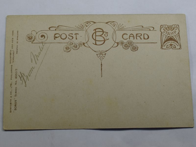 37 Original Blank WW1 British Army Post card