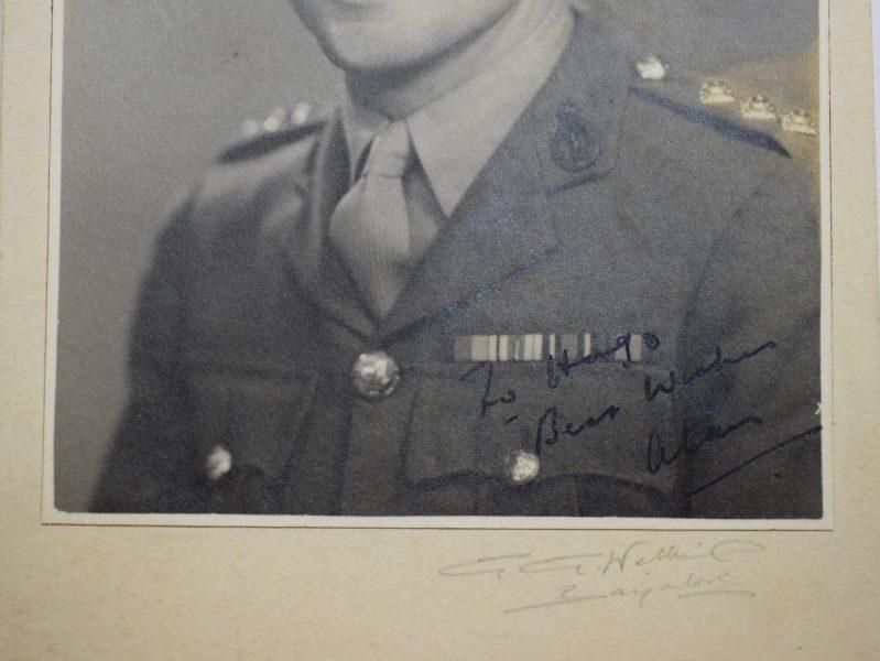 40 Original WW2 Portrait Photograph Royal Signals Officer