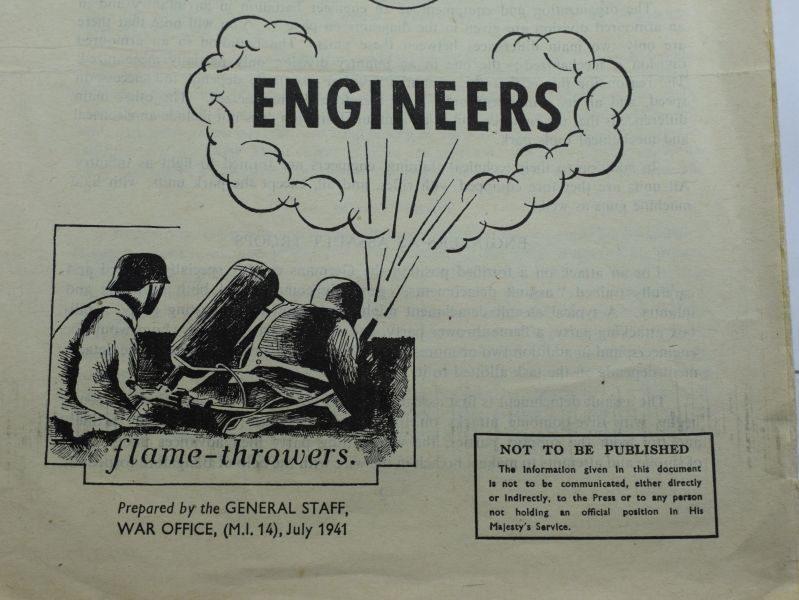 49 Original WW2 Popular Guide To The German Army No4 Engineers 1941