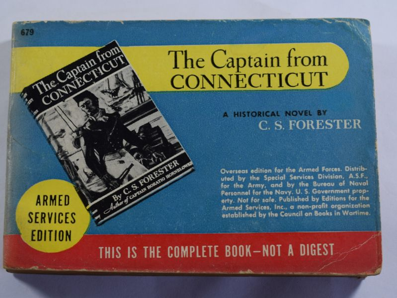 54 Original WW2 US Military Forces Novel The Captain From Connecticut 1941