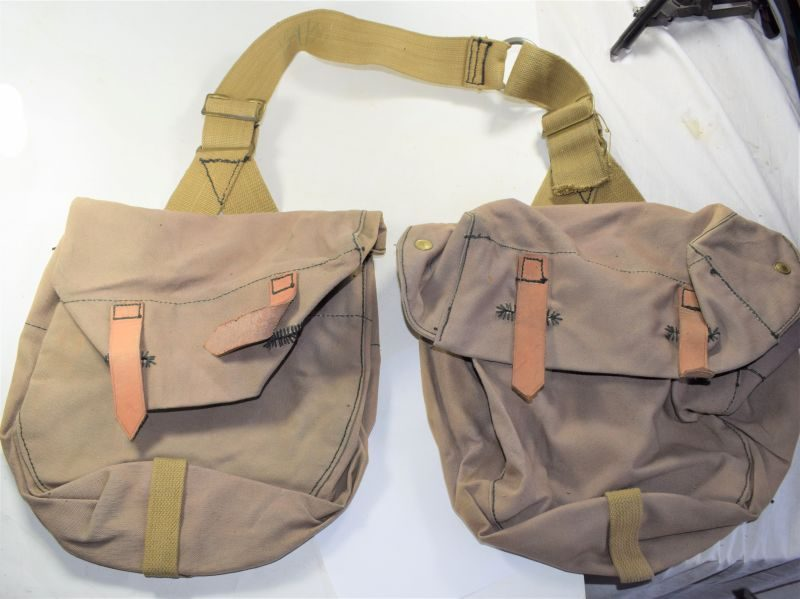 Original WW2 British Horse Pack Transport Bag Pair Dated 1941