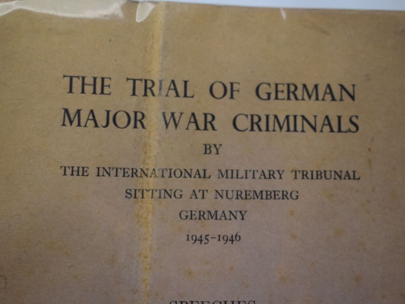 The Trial of German Major War Criminals by The international Military Tribunal Nuremberg