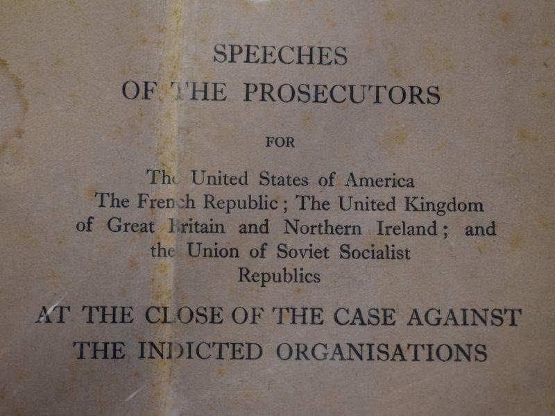 The Trial of German Major War Criminals by The international Military Tribunal Nuremberg