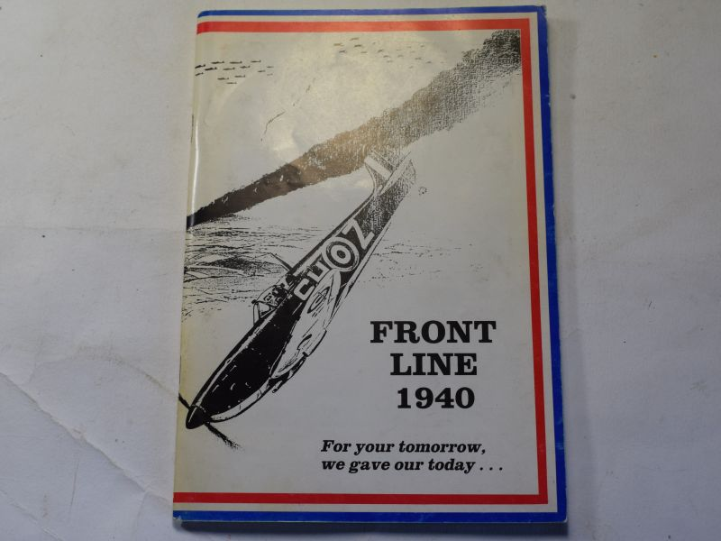 1 1970s Battle of Britain Book Front Line 1940.