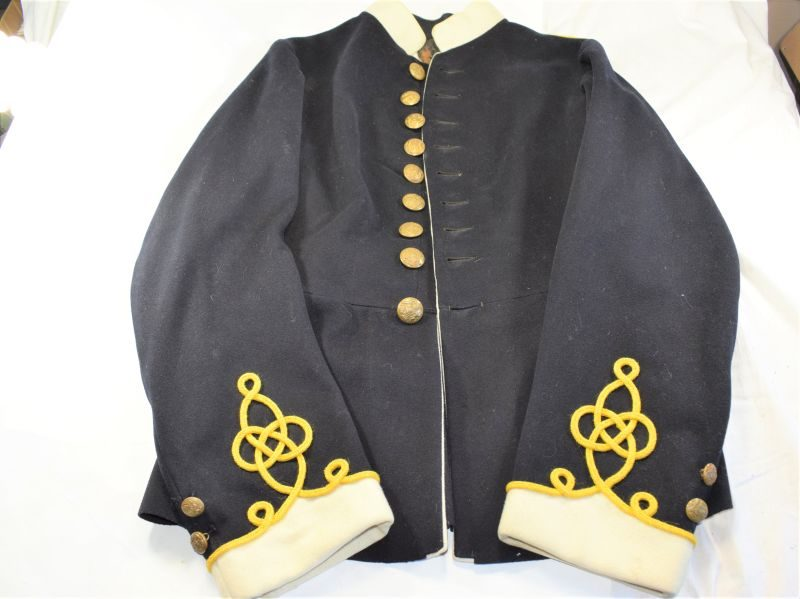 8 Excellent Pre WW1-Army Ordnance Corps Home Service Tunic with Yellow Piping