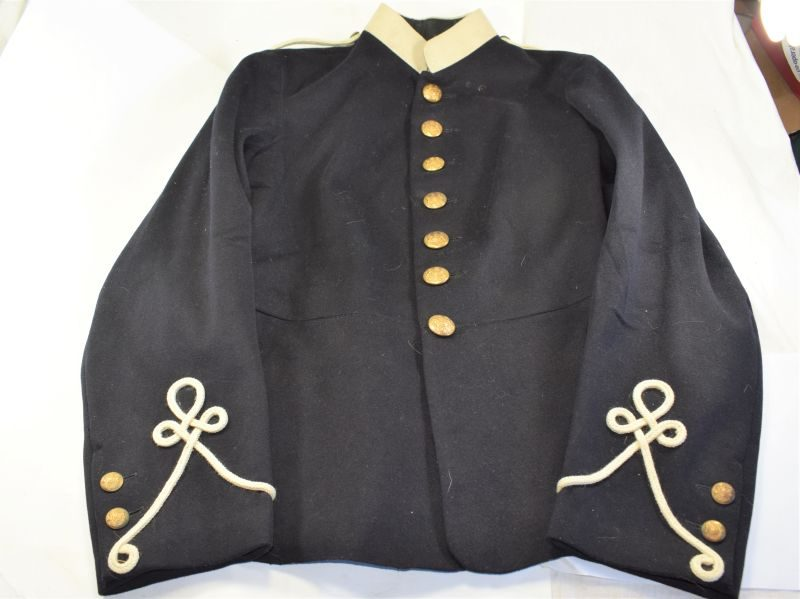9 Excellent Army Ordnance Corps Home Service Tunic with White Piping Dated 1913