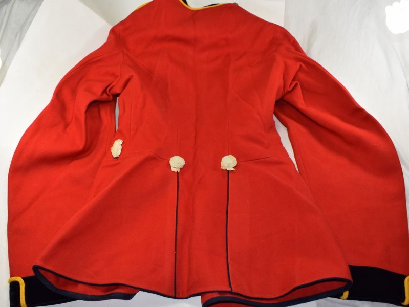 19 Near Mint Unissued Pre WW1 Royal Engineers Home Service Scarlet Tunic
