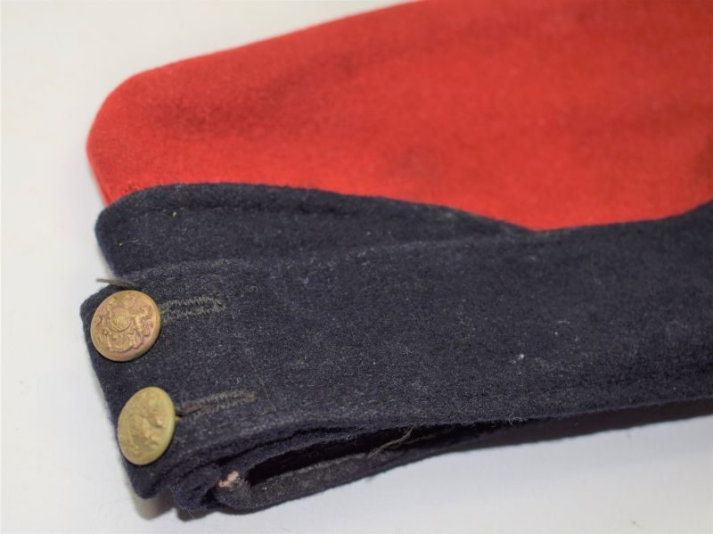 WW2 Royal Artillery Issue Coloured Field Service Cap