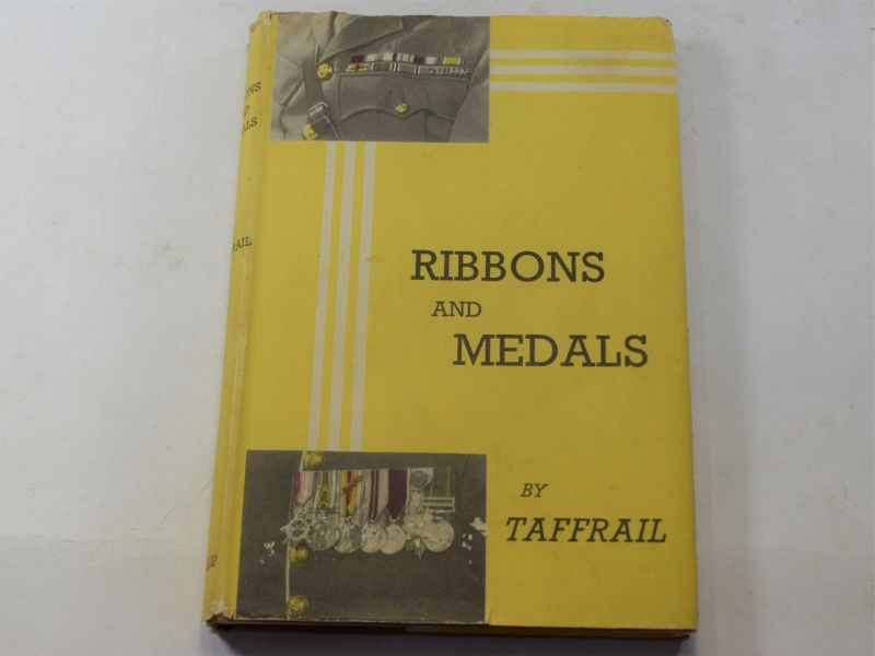 23 Good 1941 Dated Hard Back Book Ribbons & Medals