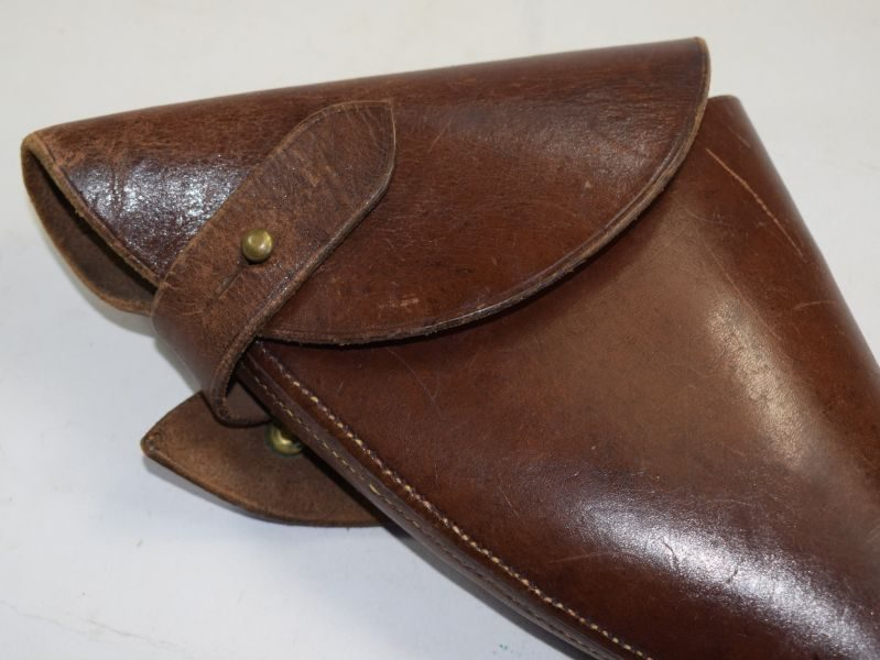 Excellent WW1 British Officers Pistol Holster Sam Brown Set