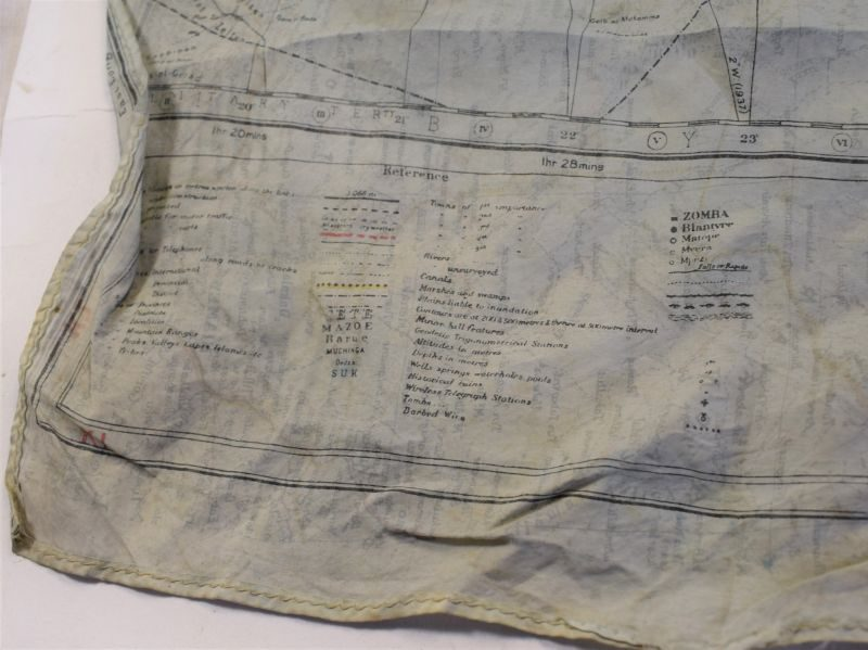 79 Original WW2 British Silk/Rayon Escape Map North Africa, Sicily, Crete
