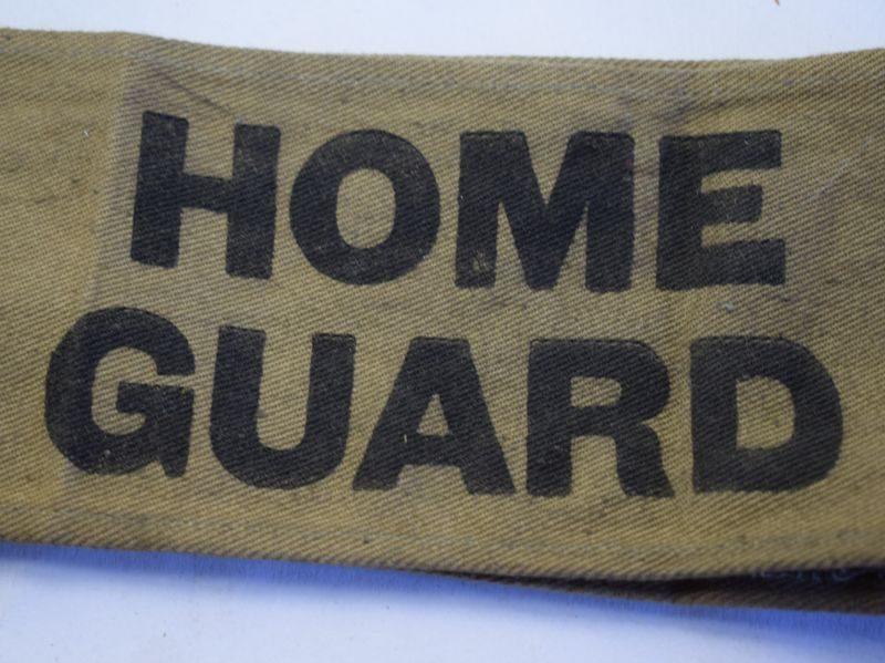 Original WW2 British Home Guard Armlet Armband
