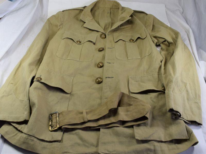 52 Excellent WW2 Buffs Royal East Kent Regiment Officers KD Jacket