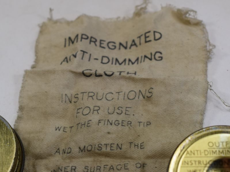 60 WW2 British Army & RAF Issue Outfit Anti-Dimming MKVI 1941