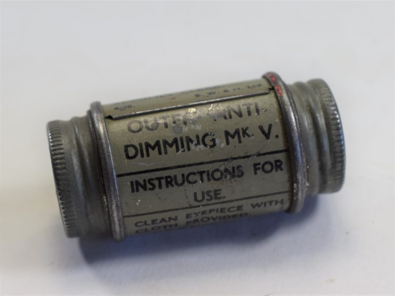 61 WW2 British Military Issue Outfit Anti-Dimming MKV 1940