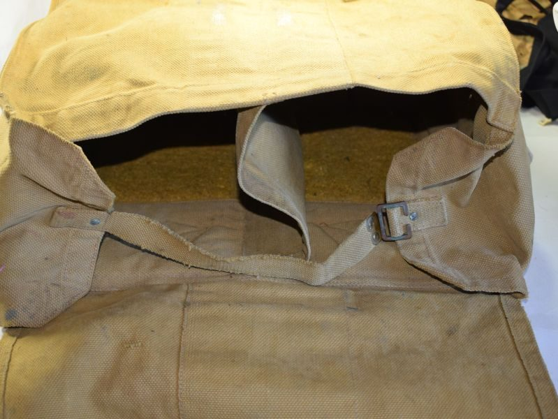 Large 1941 Dated Canadian Made Padded Back Pack, Rations Pack?