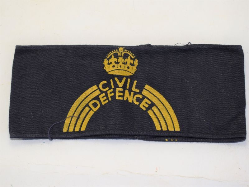 Excellent Original WW2 Civil Defence Armlet