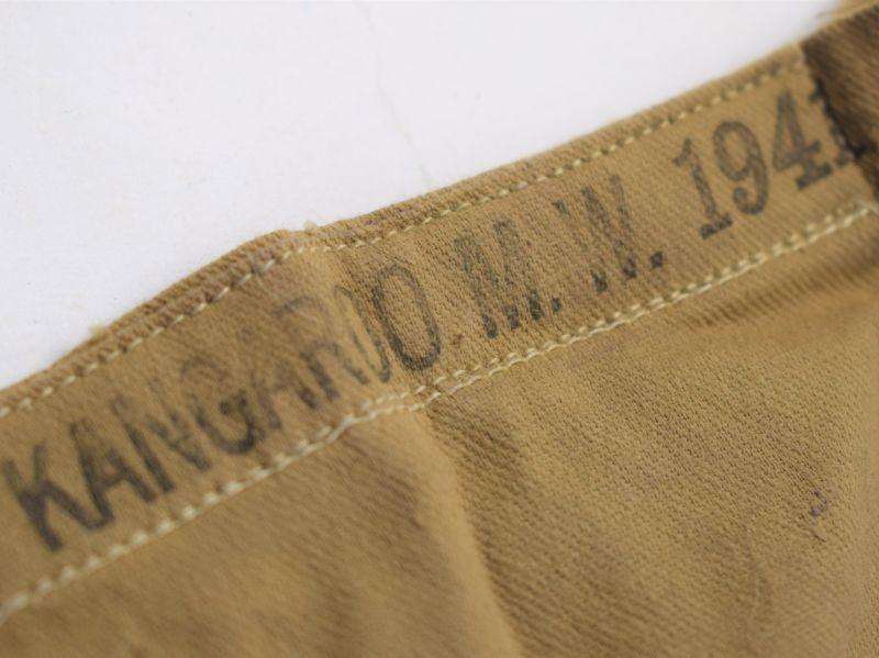 71 Original WW2 British cotton 50 Round Ammunition Bandolier 1941