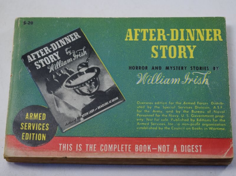 76 Original WW2 US Military Forces Issue Book After-Dinner Story Dated 1944