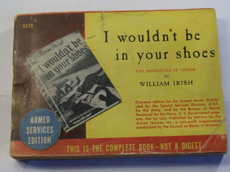 77 Original WW2 US Military Forces Issue Book I Wouldn't Be In Your Shoes Dated 1943
