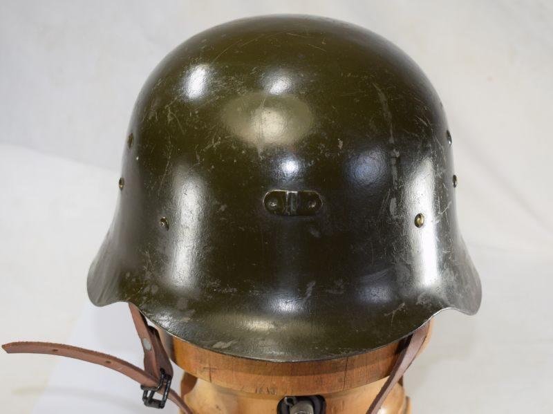 1 Original Early Spanish Z42 Steel Helmet & Liner