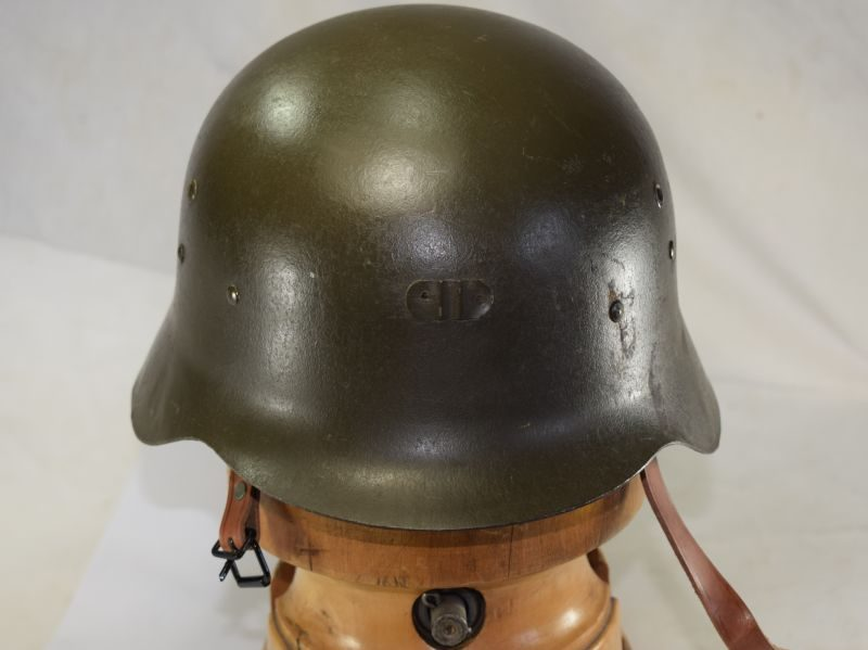 2 Nice Clean Original Early Spanish Z42 Steel Helmet & Liner