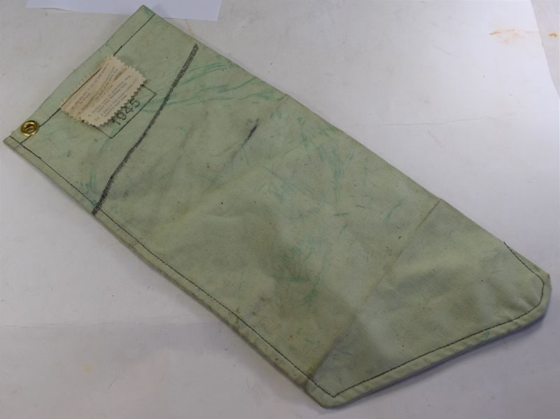 WW2 British Army Tropical Issue Milbank Bag Water Filter Dated 1945