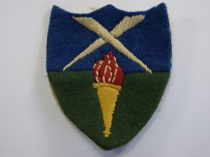 9 Original Aldershot Command Cloth Badge