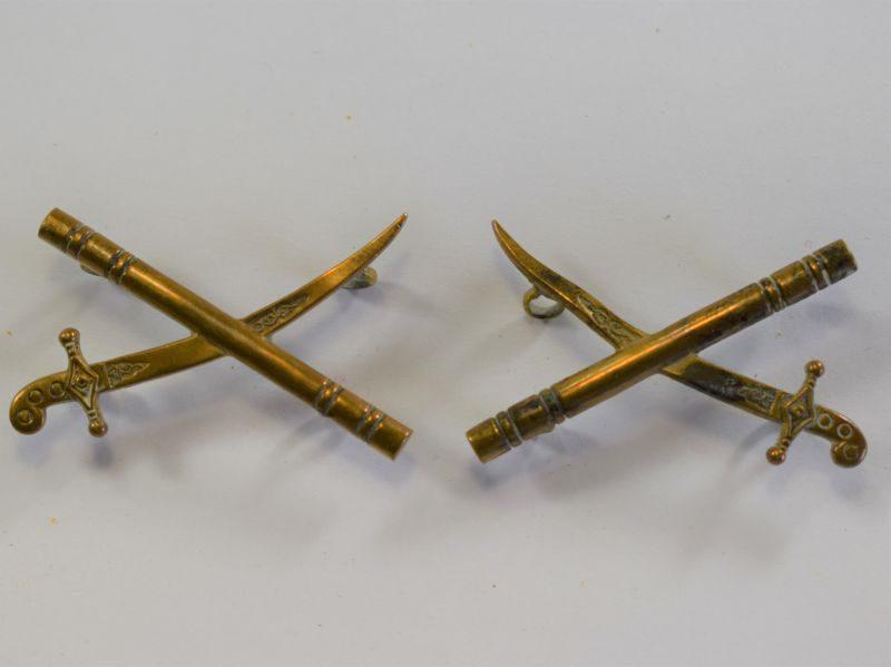 15 Original Pair WW1 WW2 British Army Generals Brass Rank Insignia