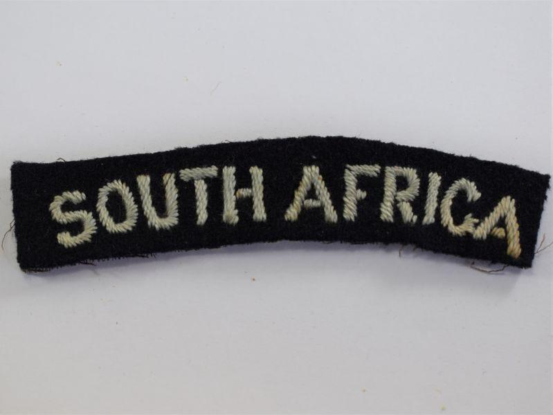 18 Original WW2 RAF South Africa Cloth Shoulder Title