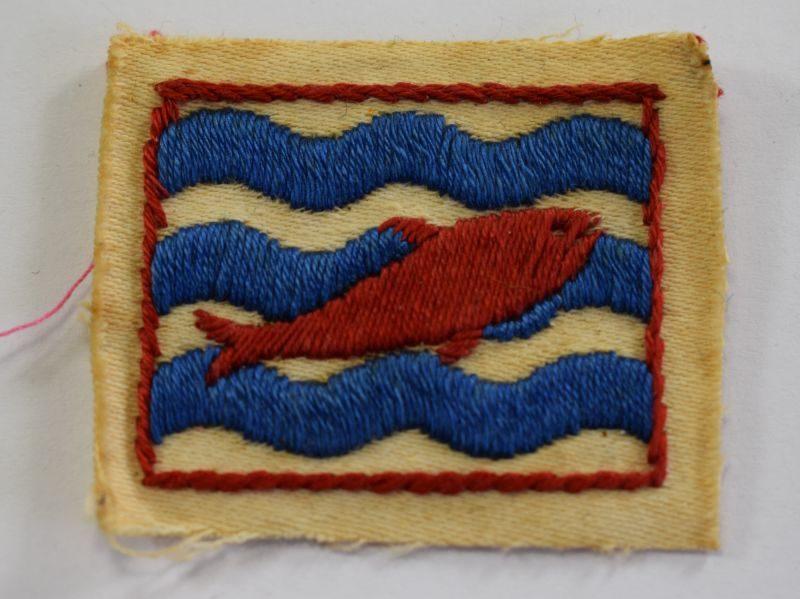 22 Original WW2 British Army II Corps Cloth Badge
