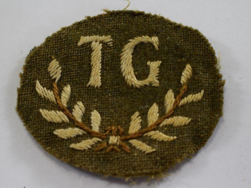 30 Original WW1 WW2 British Army TG Trade Badge for Tank Gunner