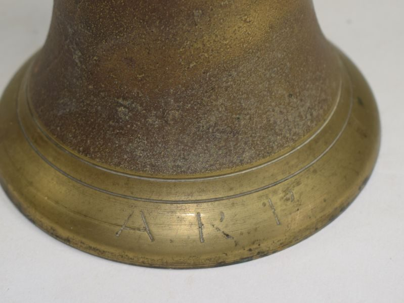 Excellent WW2 ARP Gas All Clear Bell Dated 1939.