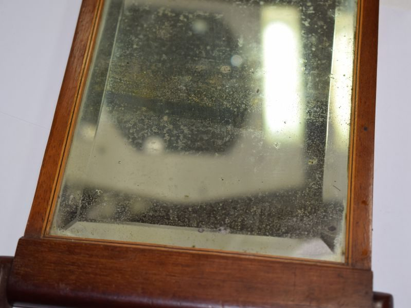 Excellent WW1 British Army Officers Private Purchase Trench Mirror