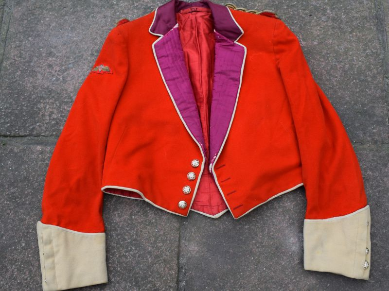 B28) Early Post WW2 HLI Officers Mess Dress Jacket Parachute Trained Lieutenant
