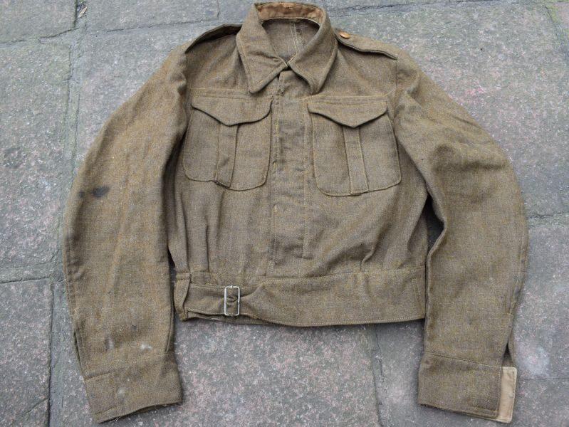 B33) Excellent Original WW2 1937 Pattern Battledress Blouse 1940