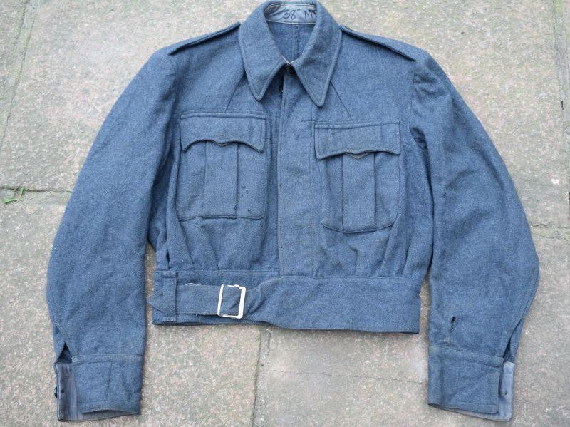 B35) Nice Original WW2 RAF War Service Dress Blouse BD Blouse 1944