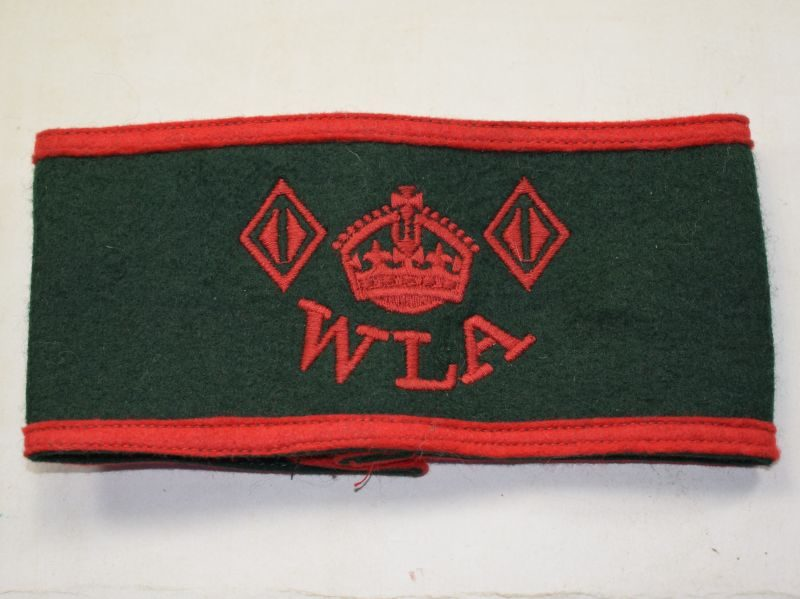 Original WW2-1950s Woman's Land Army Armband