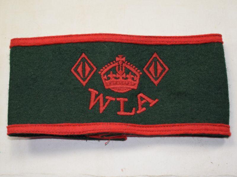 Original WW2-1950s Woman's Land Army Armband