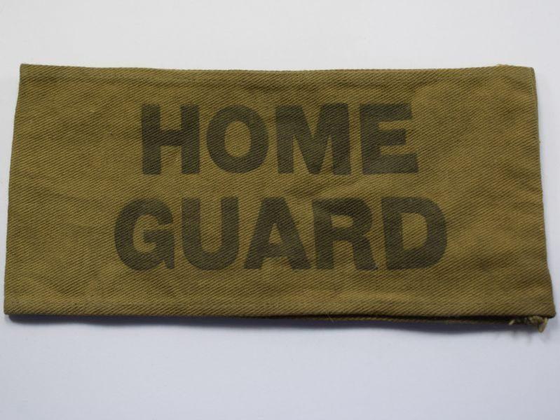 AT) Original WW2 Home Guard Issue Armlet