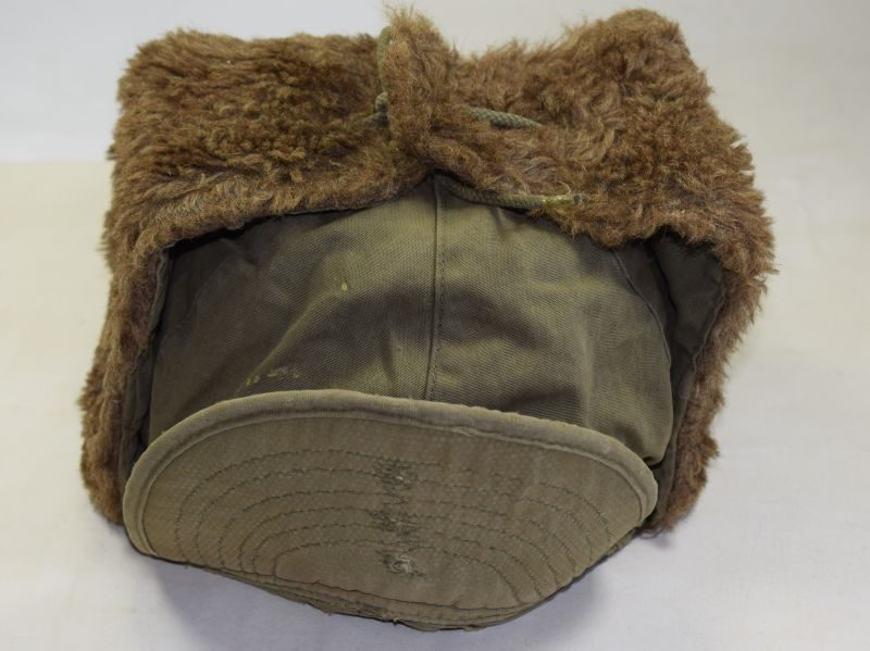 Original US Army M-1950 Korean War Issue Cold Weather Hat