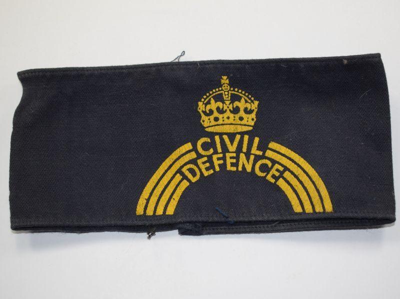 AY) Original WW2 Home front Civil Defence Armband