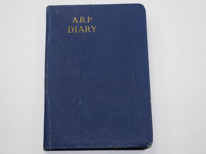 Excellent Original WW2 ARP Civil Defence Diary For 1943